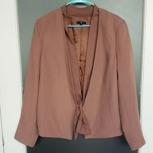 GAP blazer with hook and tie closure
